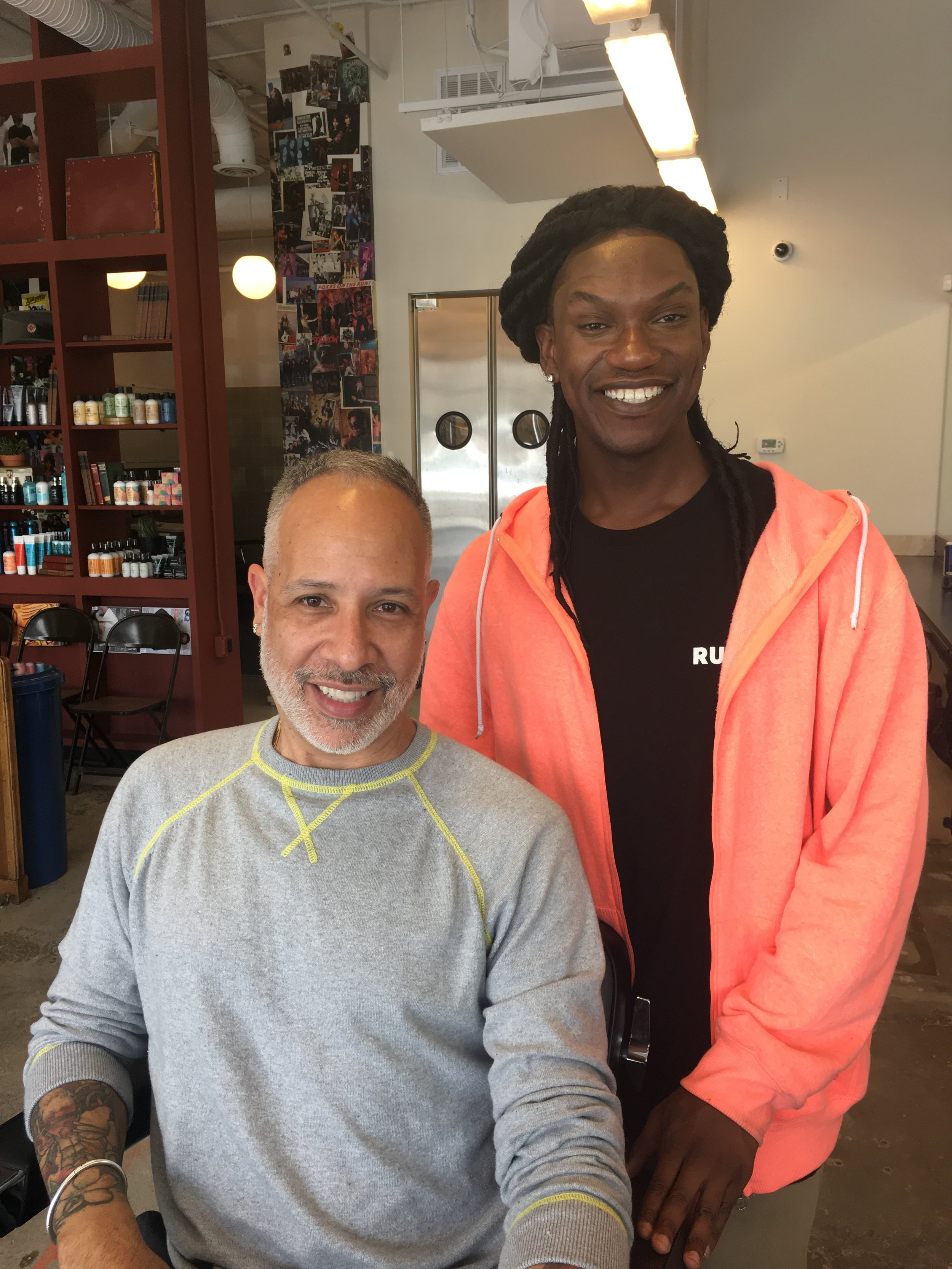 Check out Michael for your next cut! He is wonderful and will take great care of you.