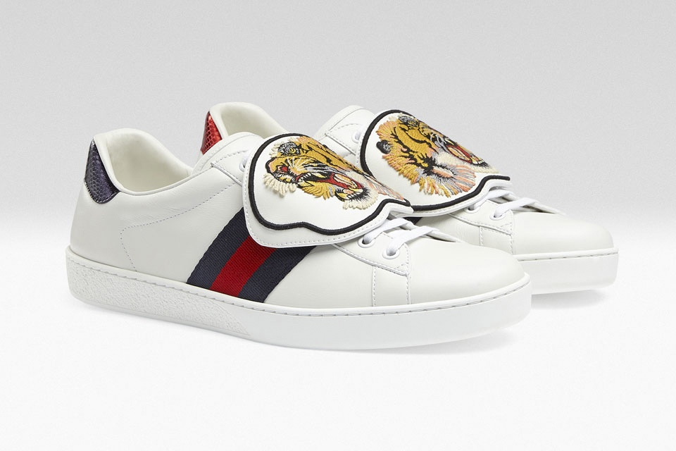 Now You Can Customize Your Gucci Sneakers With Embroidered Patches