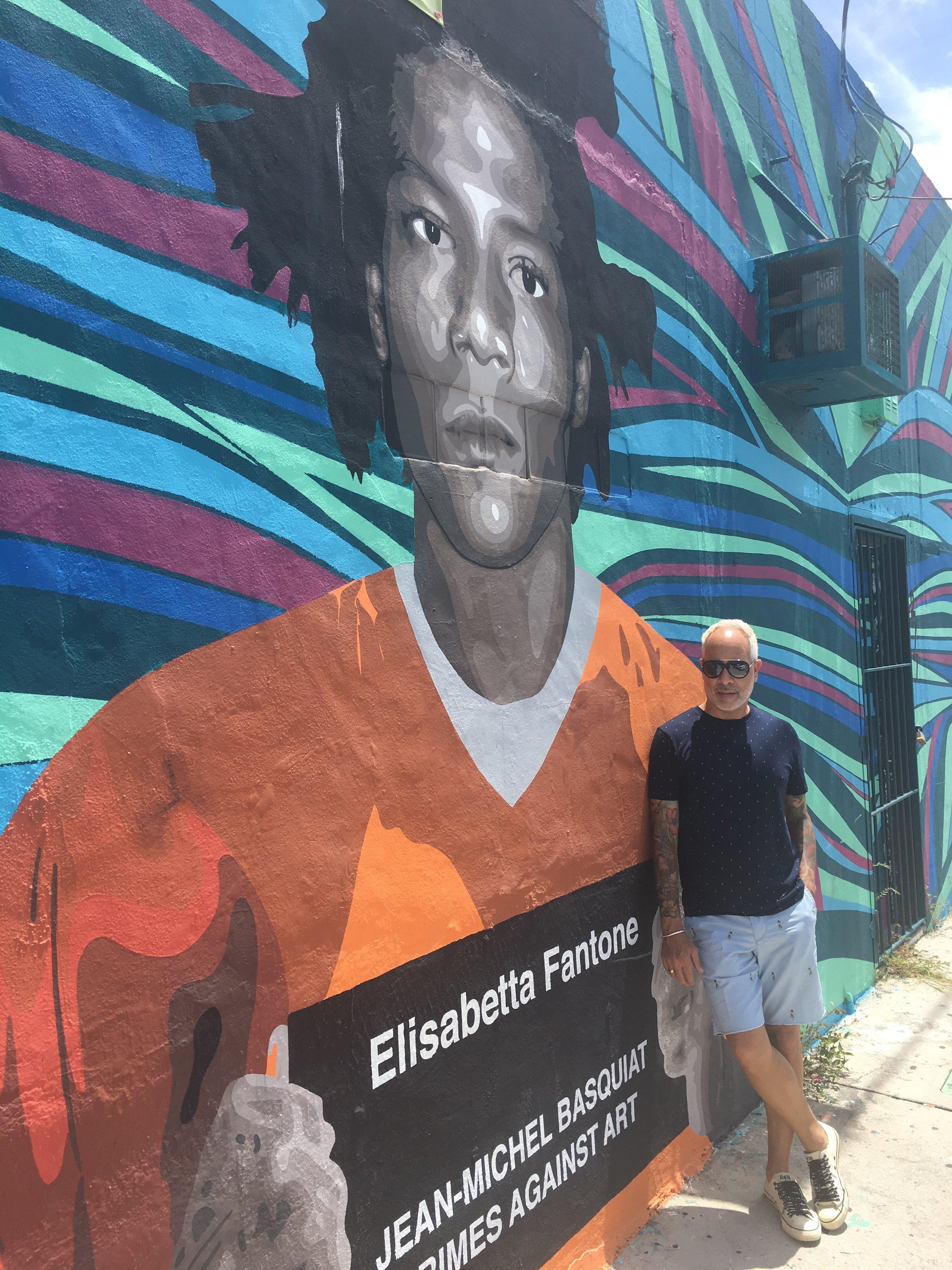 Jean-Michel Basquiat at Wynwood Walls