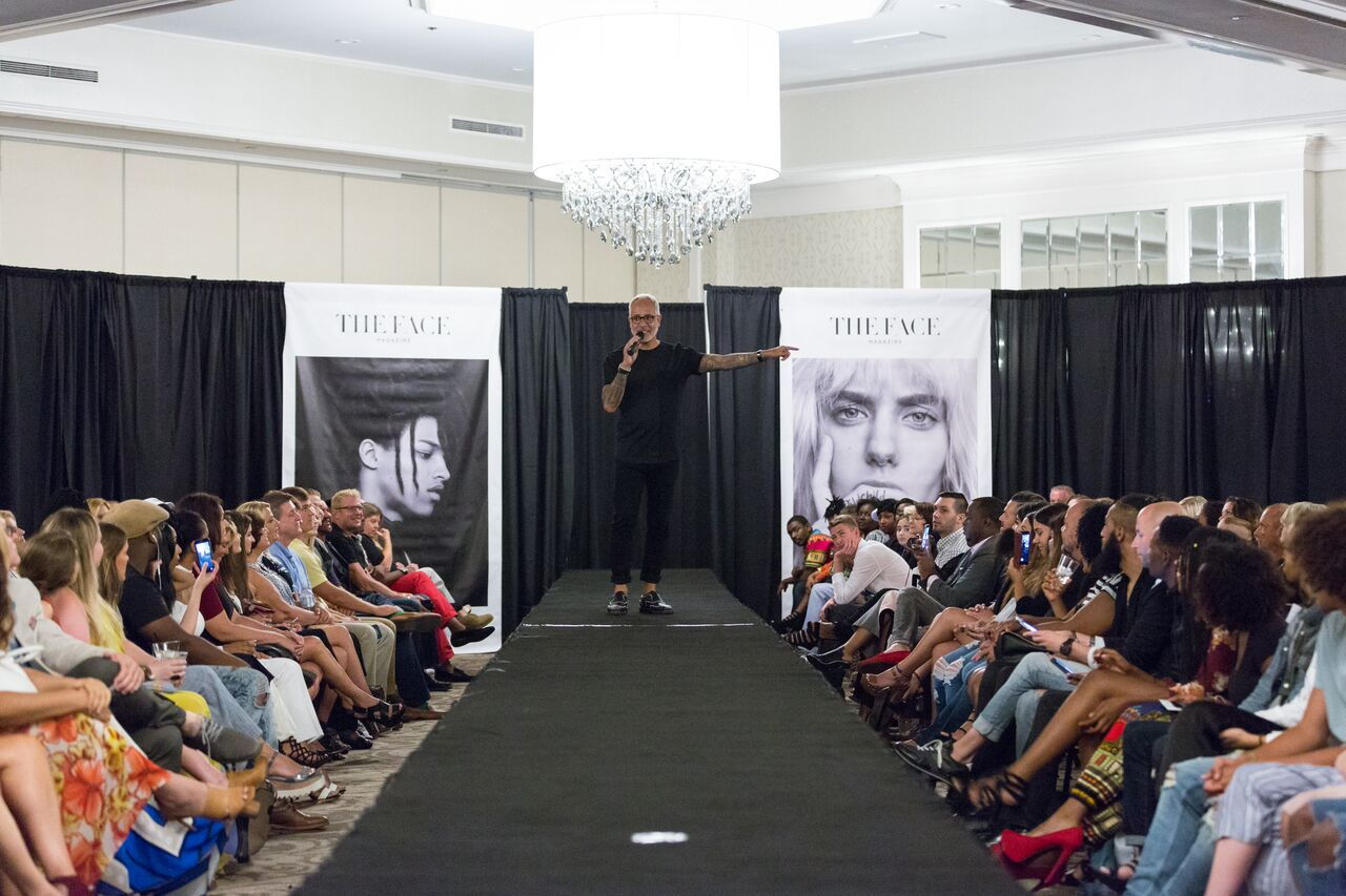 E. Vincent Martinez, The Face Magazine runway. Photos by: Torey Searcy Photography