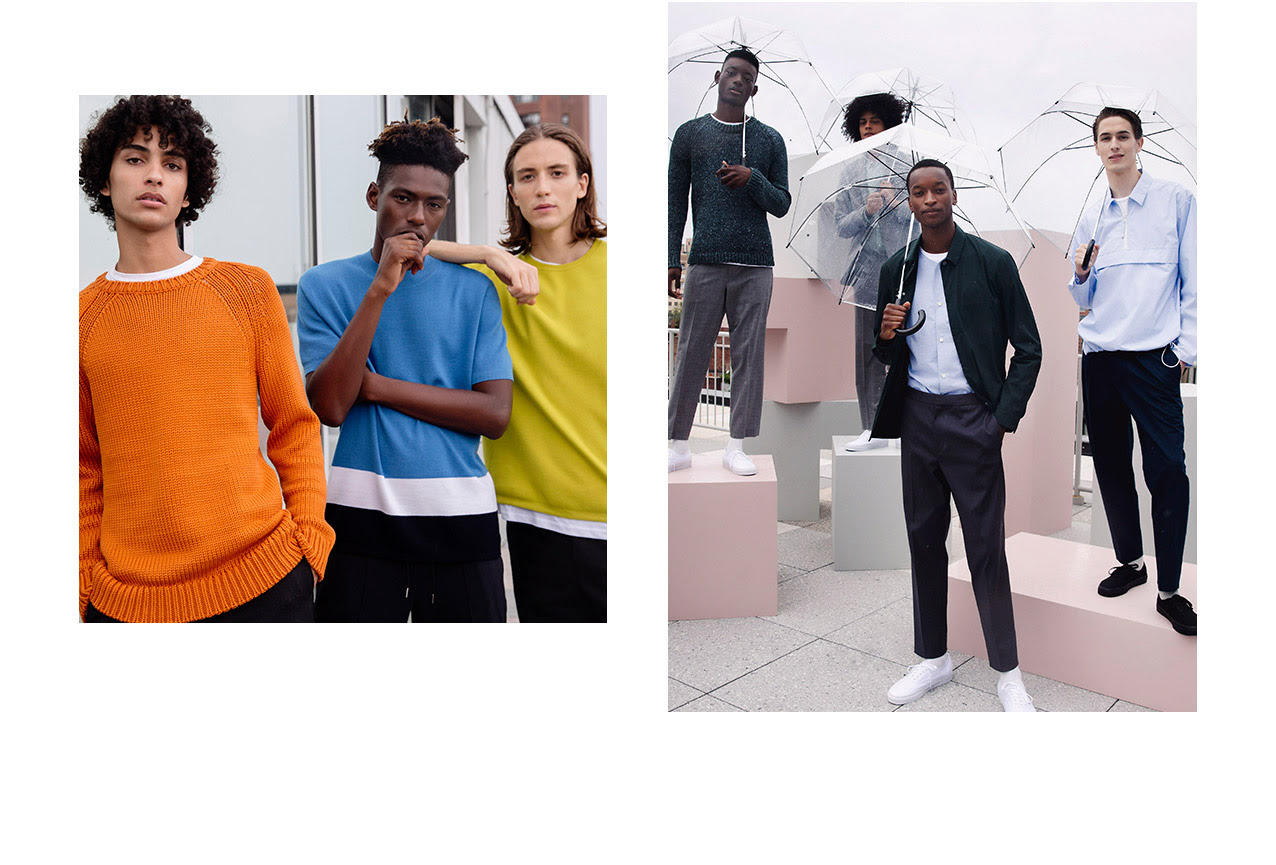 Theory Spring 2018 Menswear  nyfwm fashionado