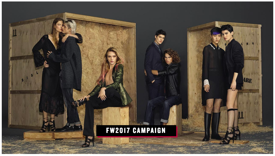 Sisley's FW17 Campaign #oneofakind