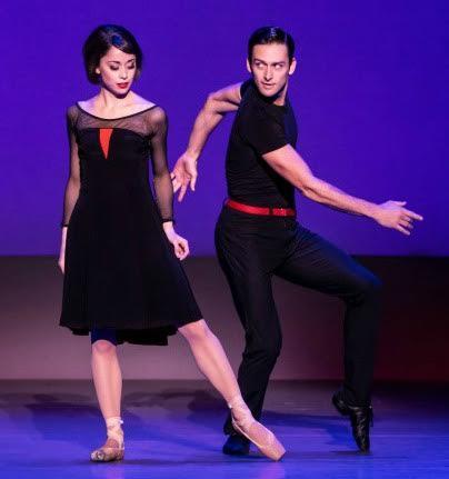 "Sara Esty brings her ballet background to ""Paris."" Photo: Matthew Murphy"