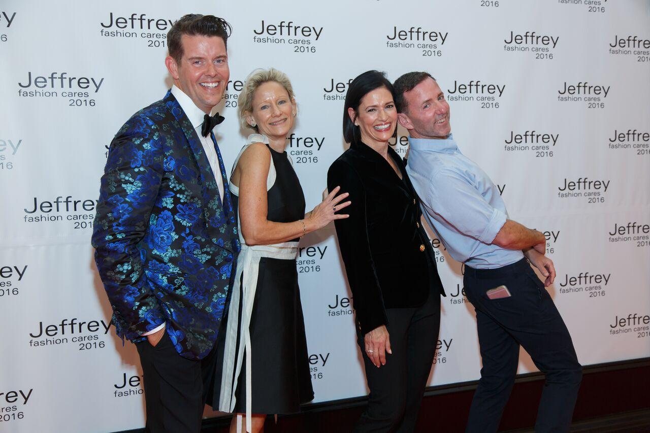 Jeffrey Fashion Cares CO-CHAIRS: Jeffrey McQuithy, Louise Sams, Lila Hertz & Jeffrey Kalinsky