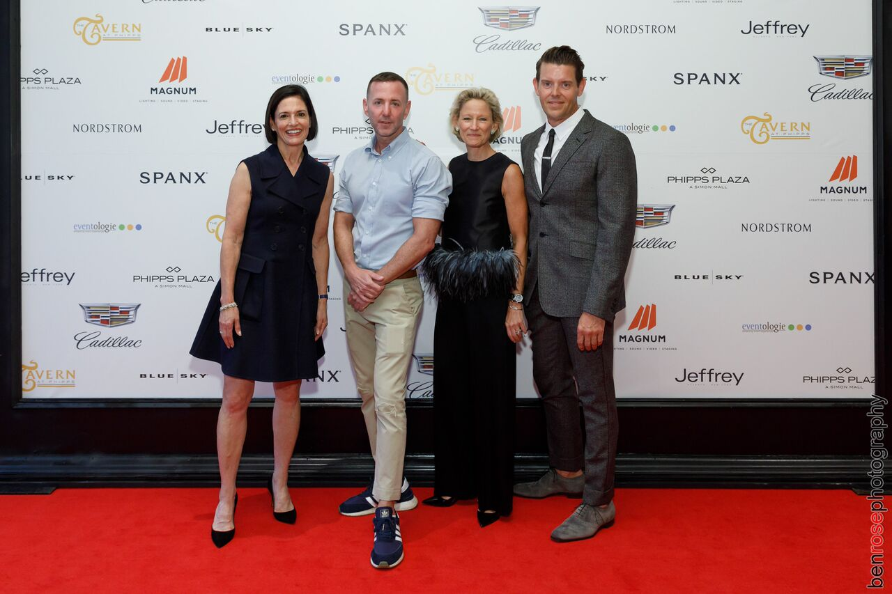Lila Hertz, Jeffrey Kalinsky, Louise Sams & Jeffrey McQuithy