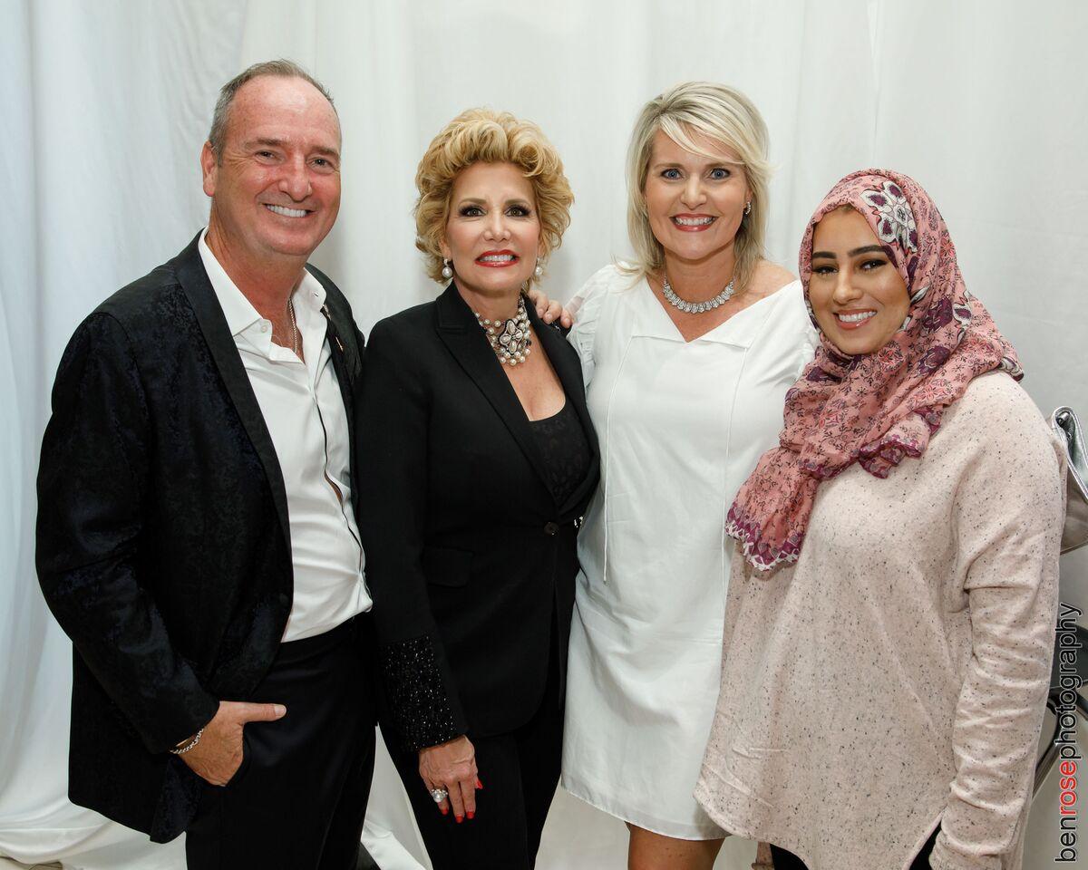 Tom Abrams, Buttercup David, Lori Geary & Rawan Asad