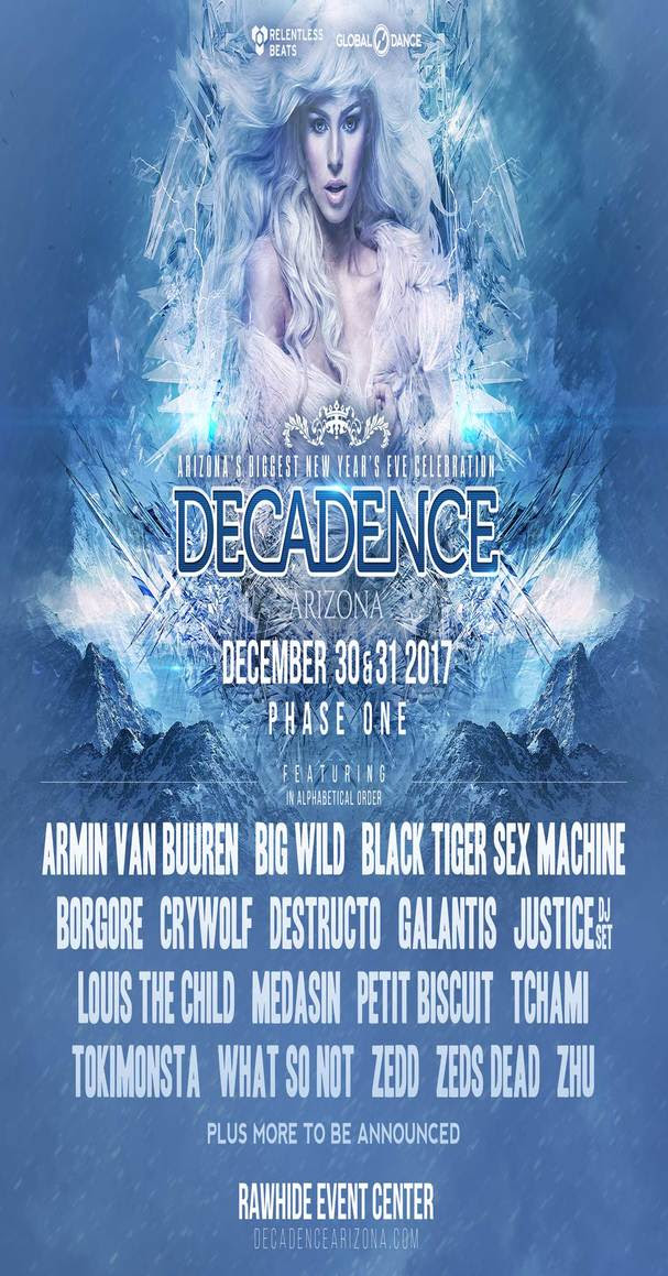decadence arizona relentless beats edm