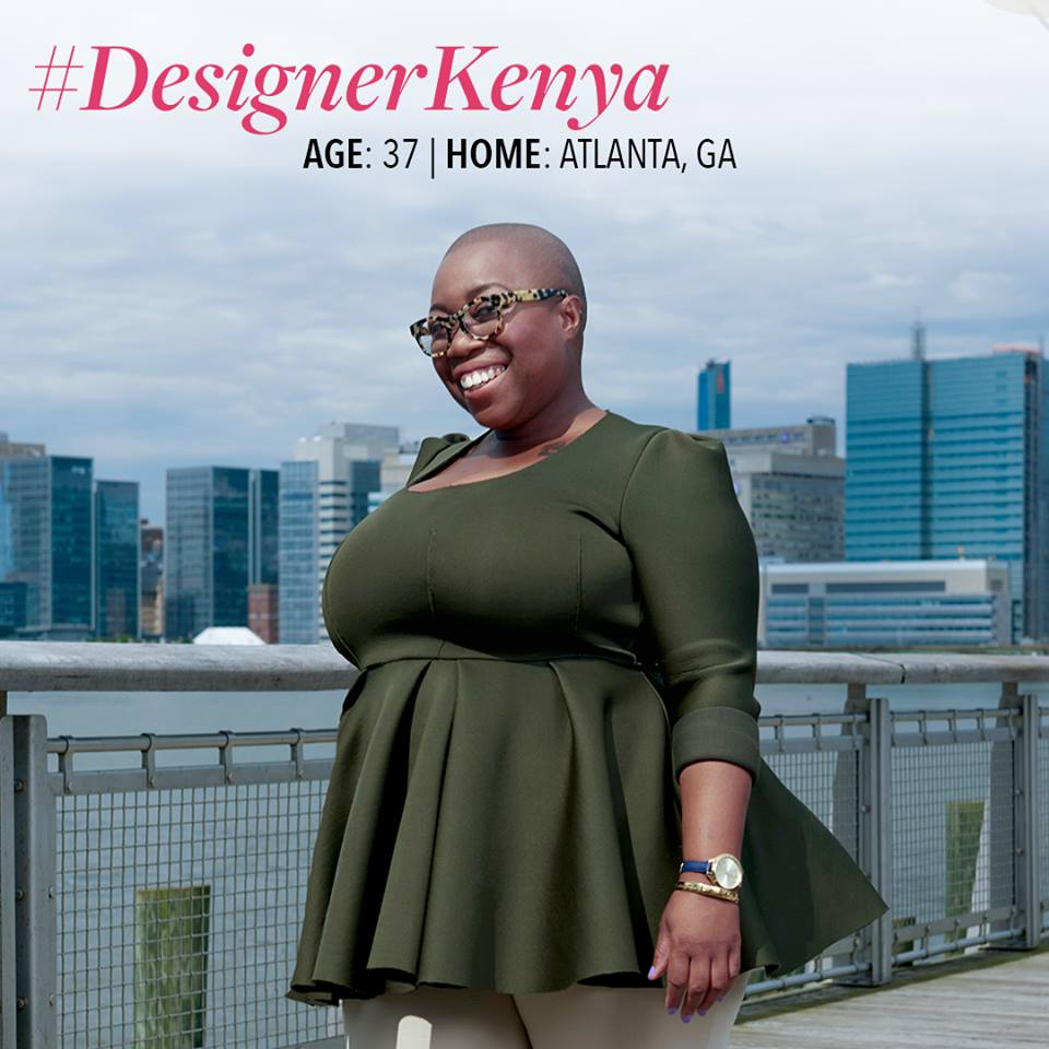 Kenya Freeman, photo: Project Runway