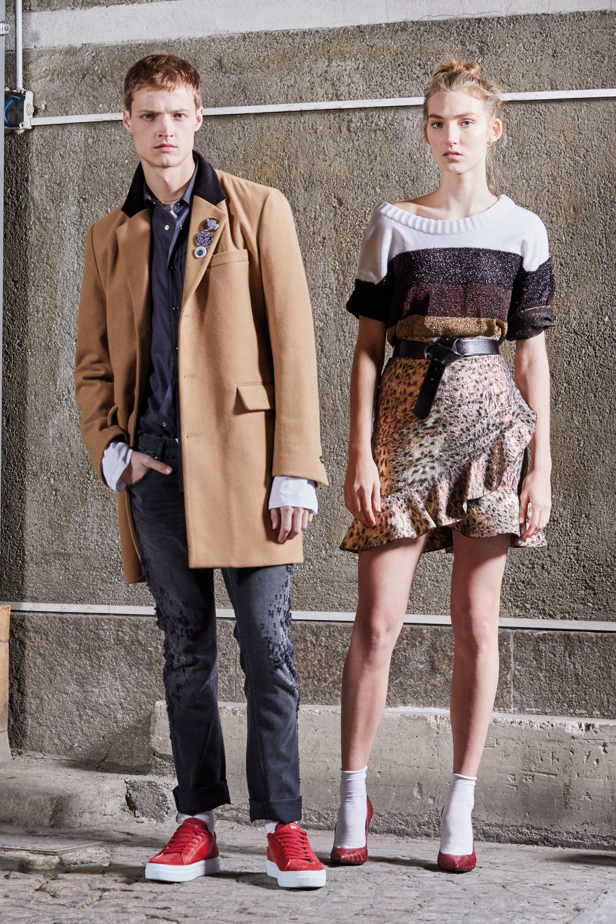 Paul Surridge has a big remit at Roberto Cavalli; it's not just the main women's line he's responsible for, but men's and the Just Cavalli diffusion range for both girls and guys, as well. -