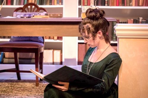 Amelia Fischer as Mary Bennett. Photo: David Woolf