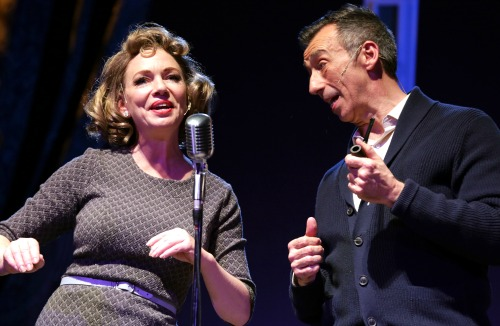 Rachel Sorsa as Rosemary Clooney and Mark Cabus as Bing Crosby. Photo: Dan Carmody / Studio 7