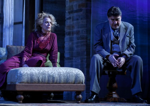 "Jane Kaczmarek and Alfred Molina in Geffen Playhouse's 2017 staging of Eugene O'Neill's ""Long Day's Journey Into Night."" Photo: Chris Whitaker"