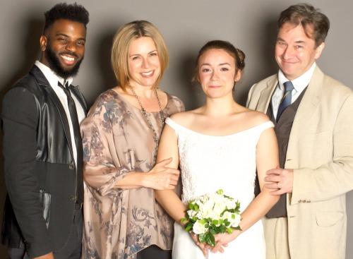 Terrance Smith (from left), Tiffany Morgan, Rachel Wansker,Donald McNamus. Photo: Tyler Ogburn