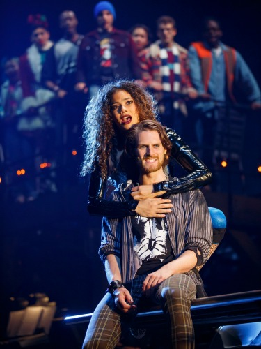 "Mimi, Roger and Co. "" Rent  rocked my perception of what a musical theater could be,"" says Lin-Manuel Miranda ( Hamilton ). Photo: Carol Rosegg"