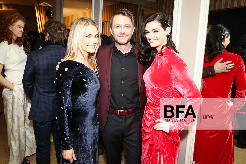 Amanda Hearst, Chris Hardwick, Lydia Hearst