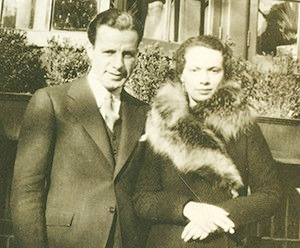 "Gil and Eleanor Kraus, the real-life couple that inspired ""Sheltered."" Photo: Kraus Family"