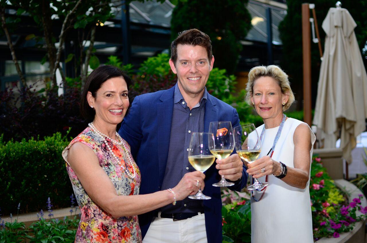 Jeffrey Fashion Cares Co-Chairs: Lila Hertz, Jeffrey McQuithy & Louise Sams