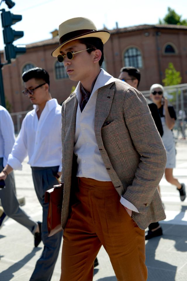 Best of Street Style from Pitti Uomo Spring 2019