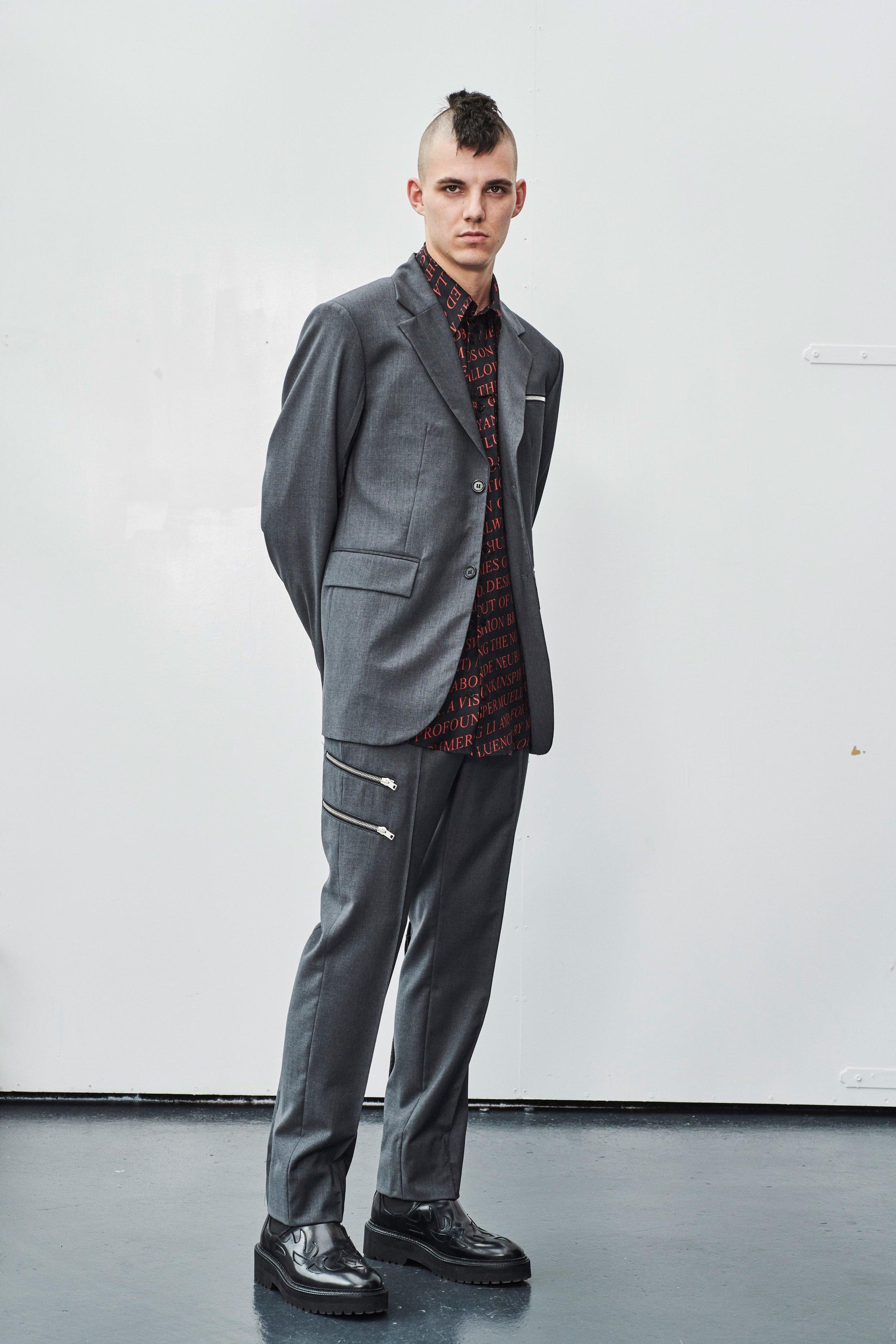 Yang Li Spring 2019 Menswear