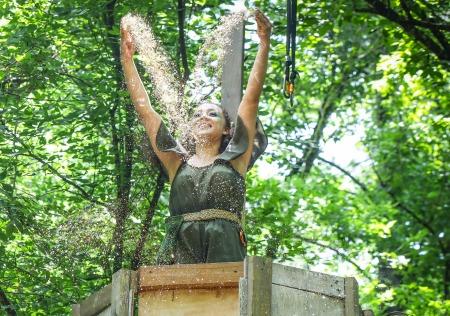 Alexandria Joy as Tinker Bell. Photo: BreeAnne Clowdus