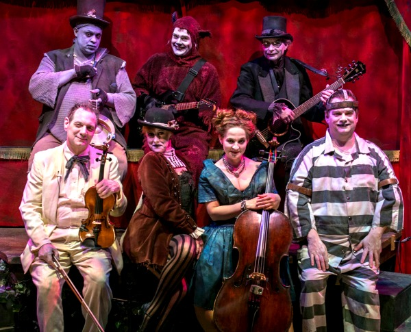 The Dreadfuls (front, from left): Scott DePoy, Reay Kaplan, Kristin Haverty, Robert Strickland and (back, from left) Spencer Stephens, Jason Hines, Jon Ludwig. Photo: Clay Walker