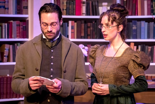 Jonathan Horne and Amelia Fischer return as Arthur and Mary. Photo: David Woolf