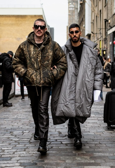 London Fashion Week Men's Street Style