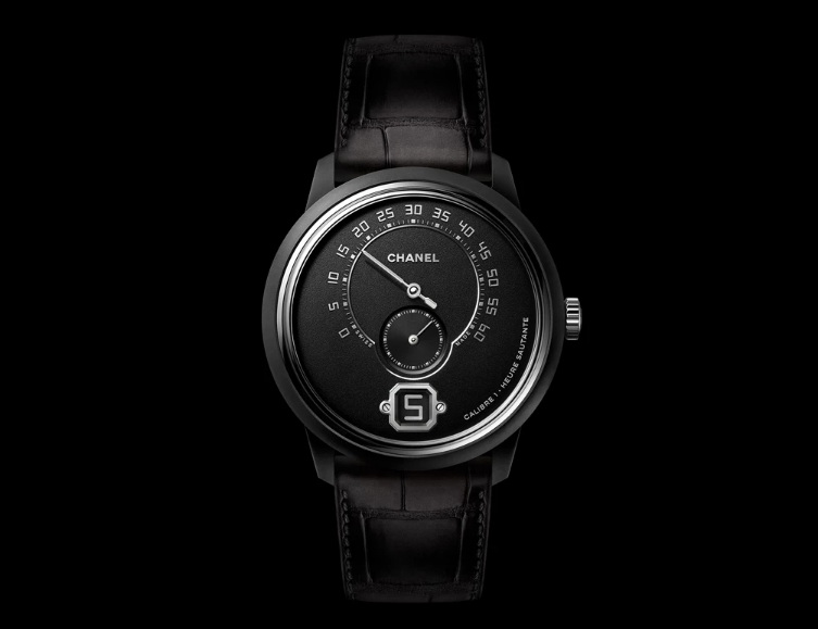 All-Black Take on Its Monsieur de CHANEL Watch