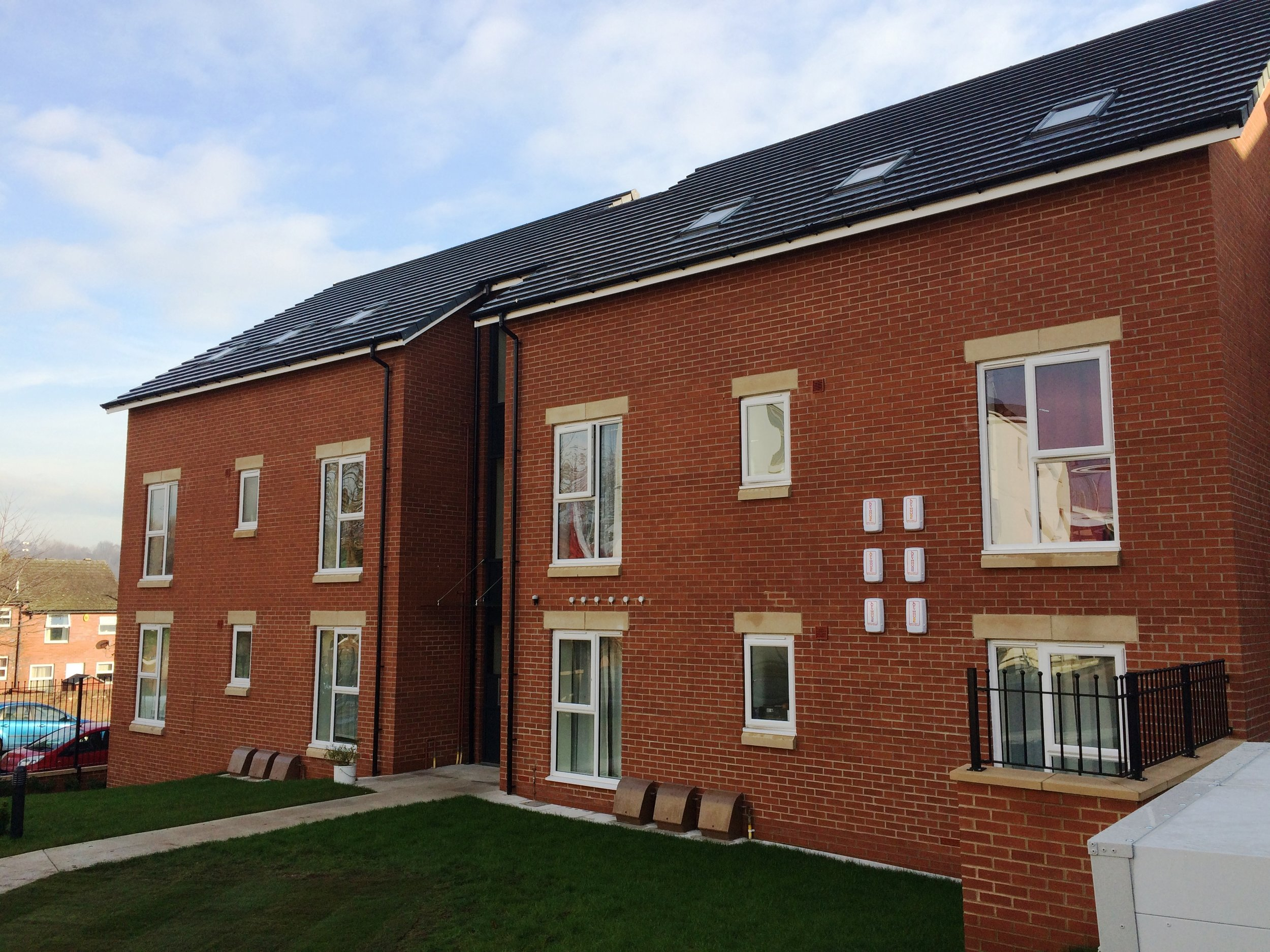 Part of Unity's new Holborn Court development in Little London, north Leeds
