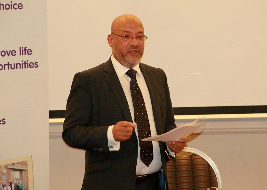 Unity Homes and Enterprise Chief Executive Ali Akbor
