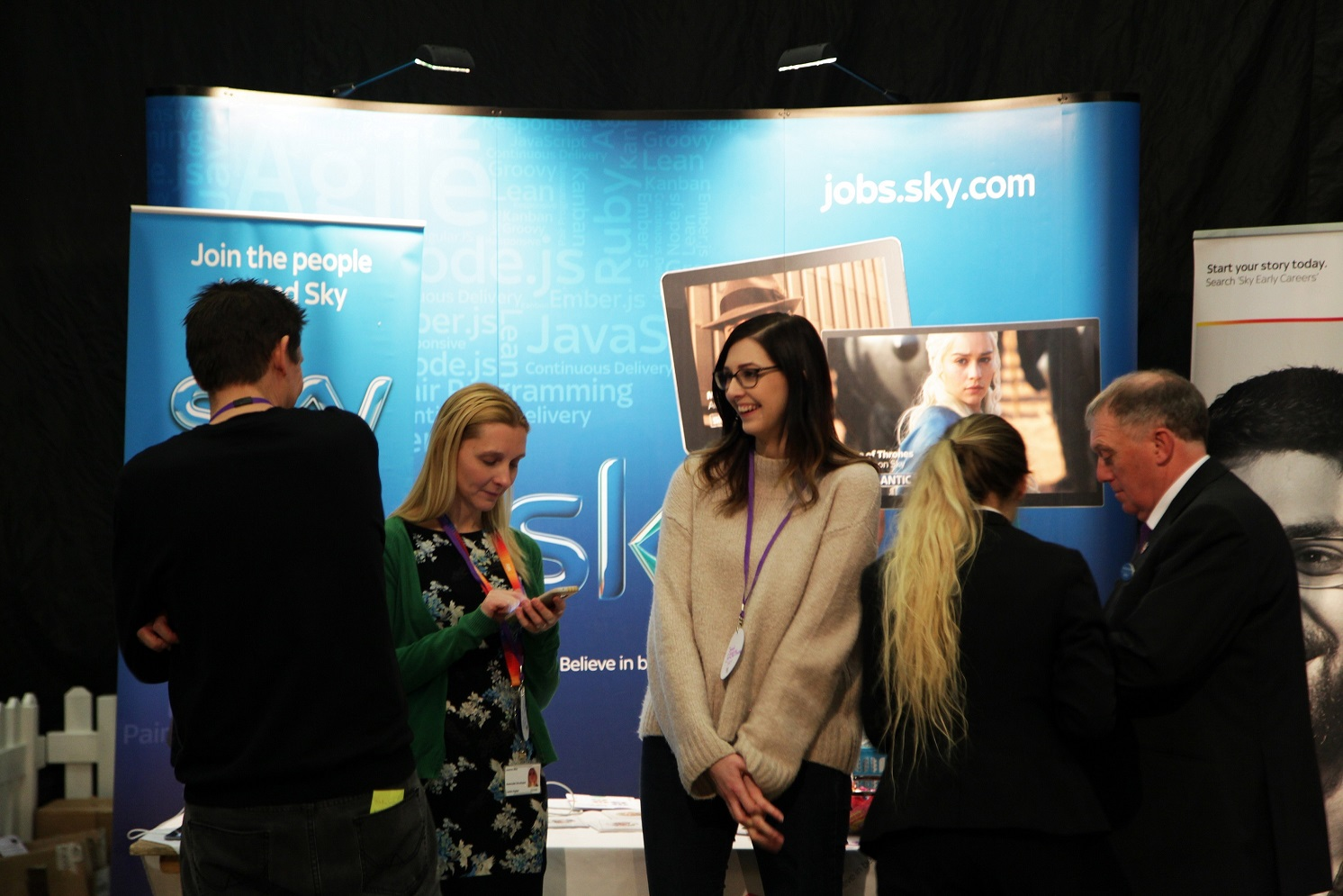 Sky in demand at Leeds Digital Job Fair 4.0