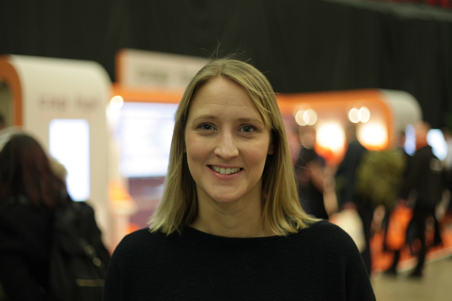 Herd founder Amy De-Balsi at Leeds Digital Job Fair 4.0