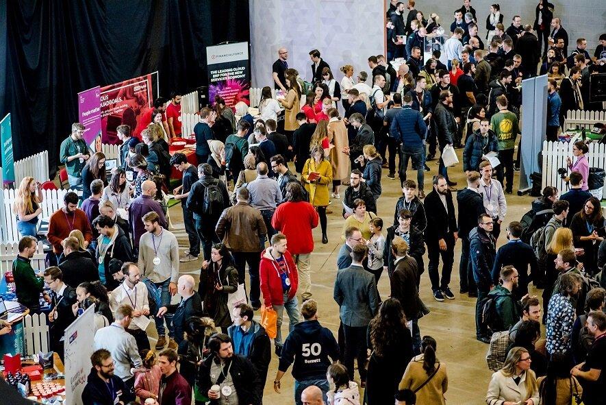 Big crowds at Leeds Digital Job Fair 5.0