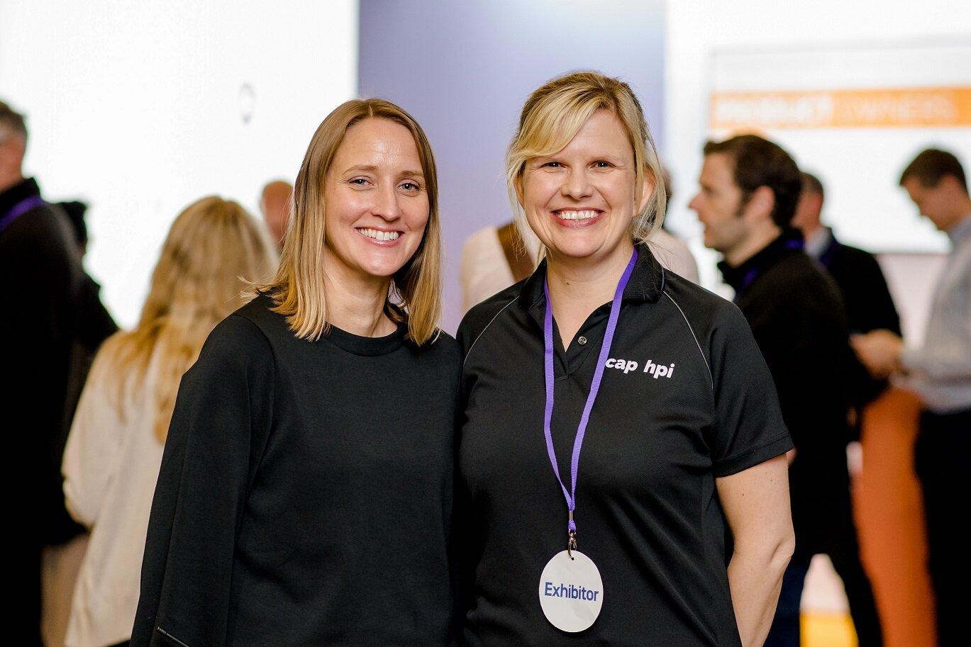 Amy De-Balsi (left) with Helen Wright, Head of Development at cap hpi