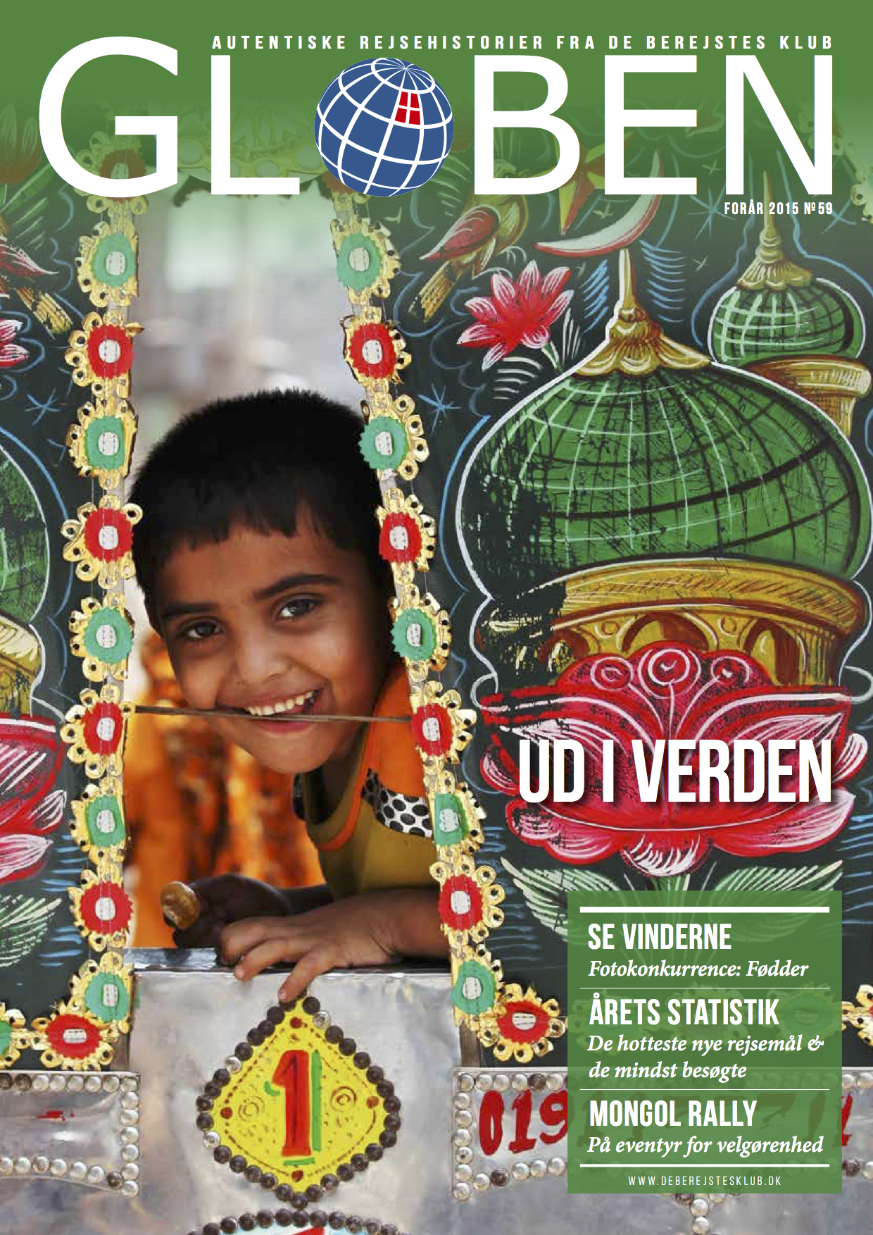 Issue 59: Ud i Verden   This Out in the World issue takes us to adventures in Kyrgyzstan, Ghana, Algeria, India, Russia, and many more. Download the issue by clicking  here .