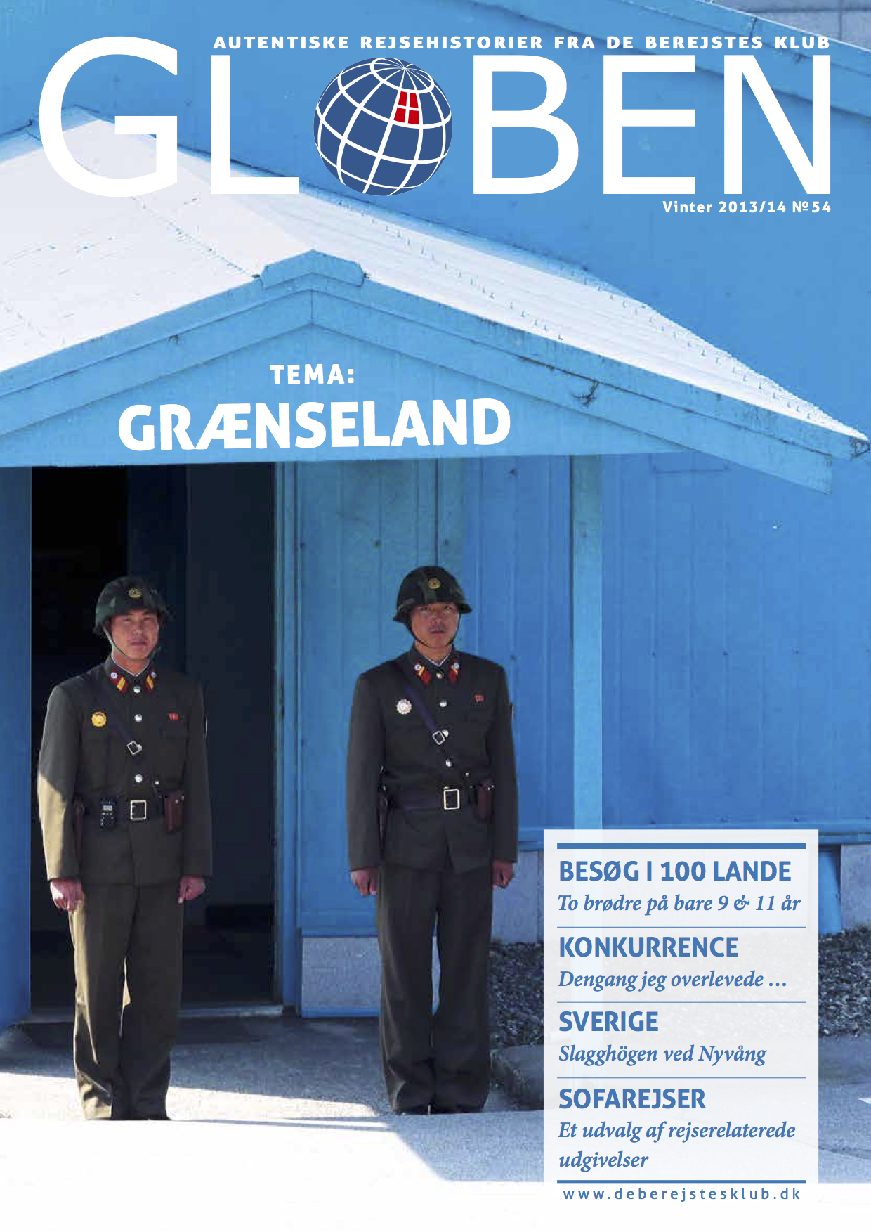 Issue 54: Grænseland   Borders have always been a construct that emphasises on the differences rather than uniting mankind. In  this issue , the stories discuss what impact a border has on people's lives across the world.