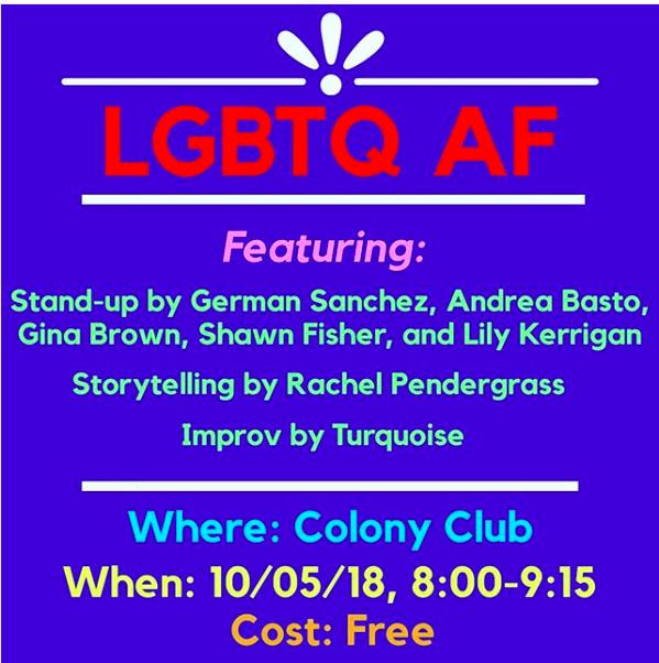 LGBTQAF Flyer