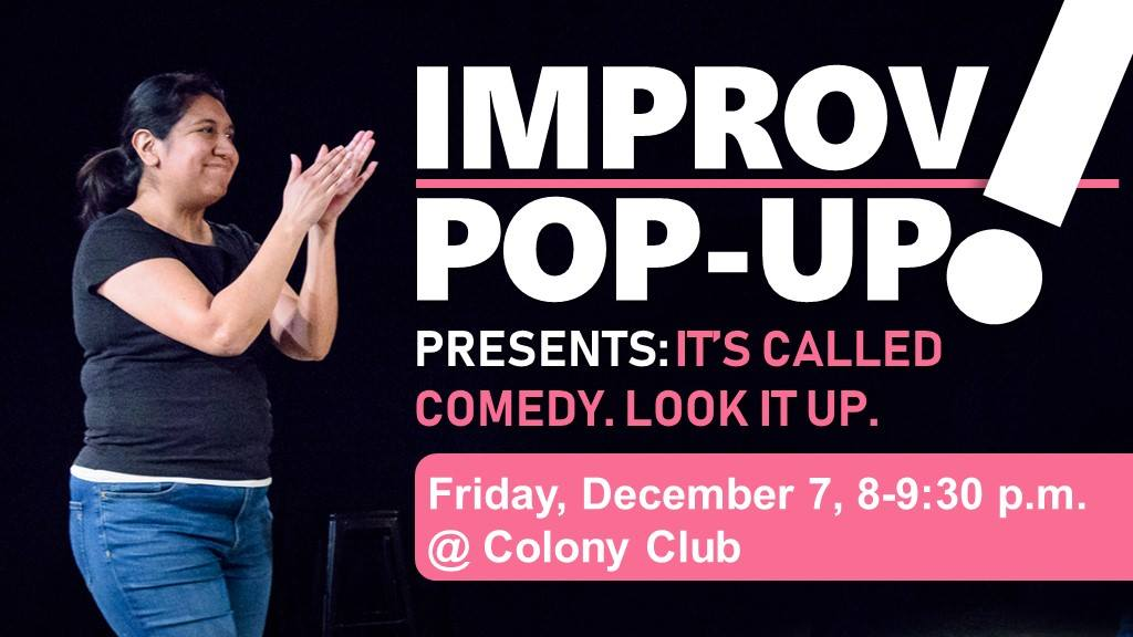 Improv Pop Up