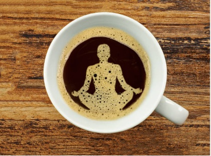 coffee yoga