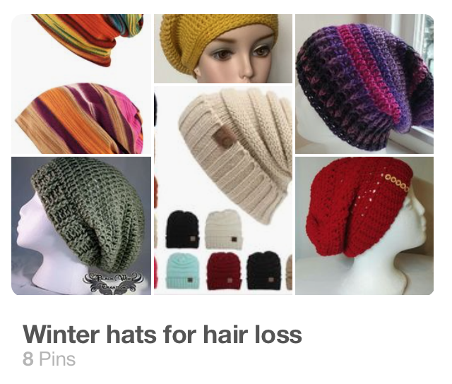 Winter hats for hair loss
