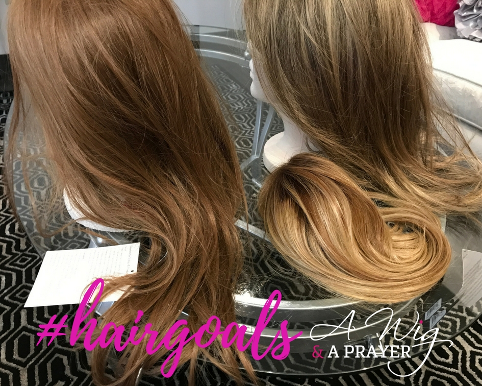 What are your #hairgoals? Longer, thicker hair? Covering up thinning, graying locks? Adding some oomph to your style? Having your dream hair?  Whatever your #hairgoals, a wig, topper or extensions can be a great option.