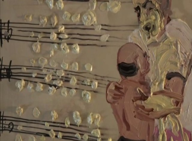 Music Man (2009)  Single channel color video (stop motion animation  Duration 1:18 mins