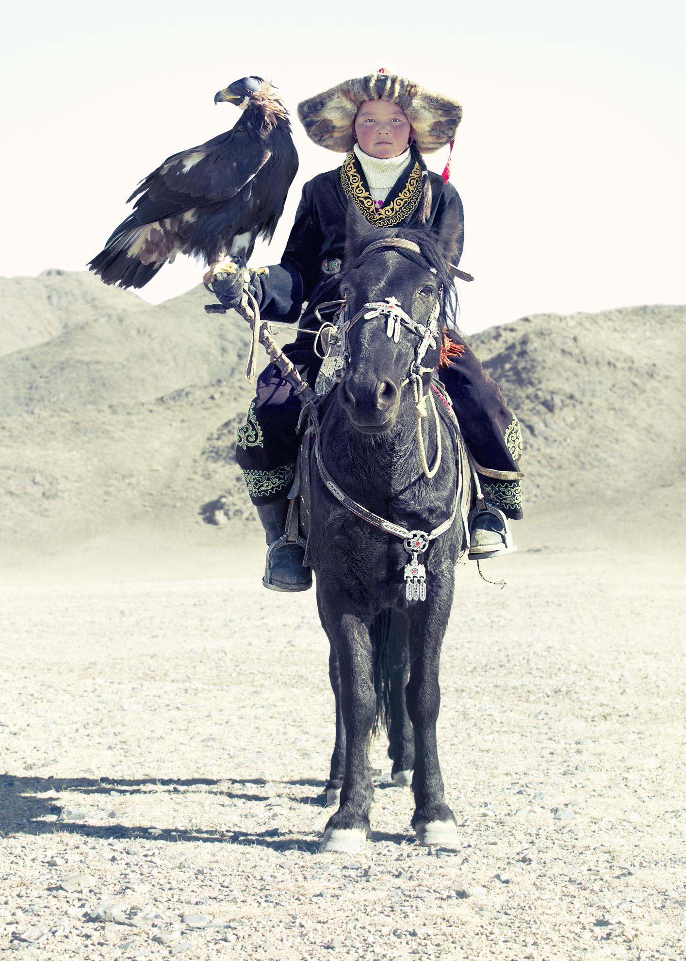 """Eagle Hunter 13"" (2015)  Photograph  90 x 60 in"