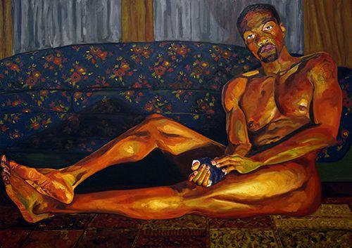 Jordan Casteel  Yahya 2013  Taylor Art Collection