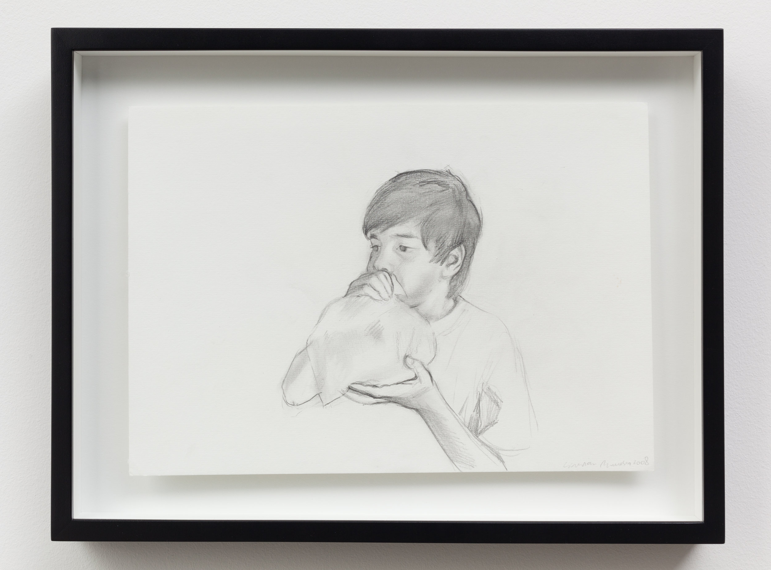 """""""Untitled (Pioneers)"""" (2008)  Graphite on paper  8 x 11.5 in each"""