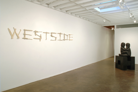 """Drifting, Drifted, Drifter""  (2006)  Stoneware  17 x 144 in"