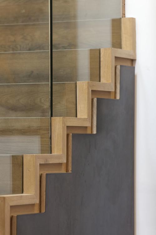 Modern Contemporary Fletcher Crane Architect Frog Capital Kings Cross St Pancras London Staircase Detail Glass Balustrade