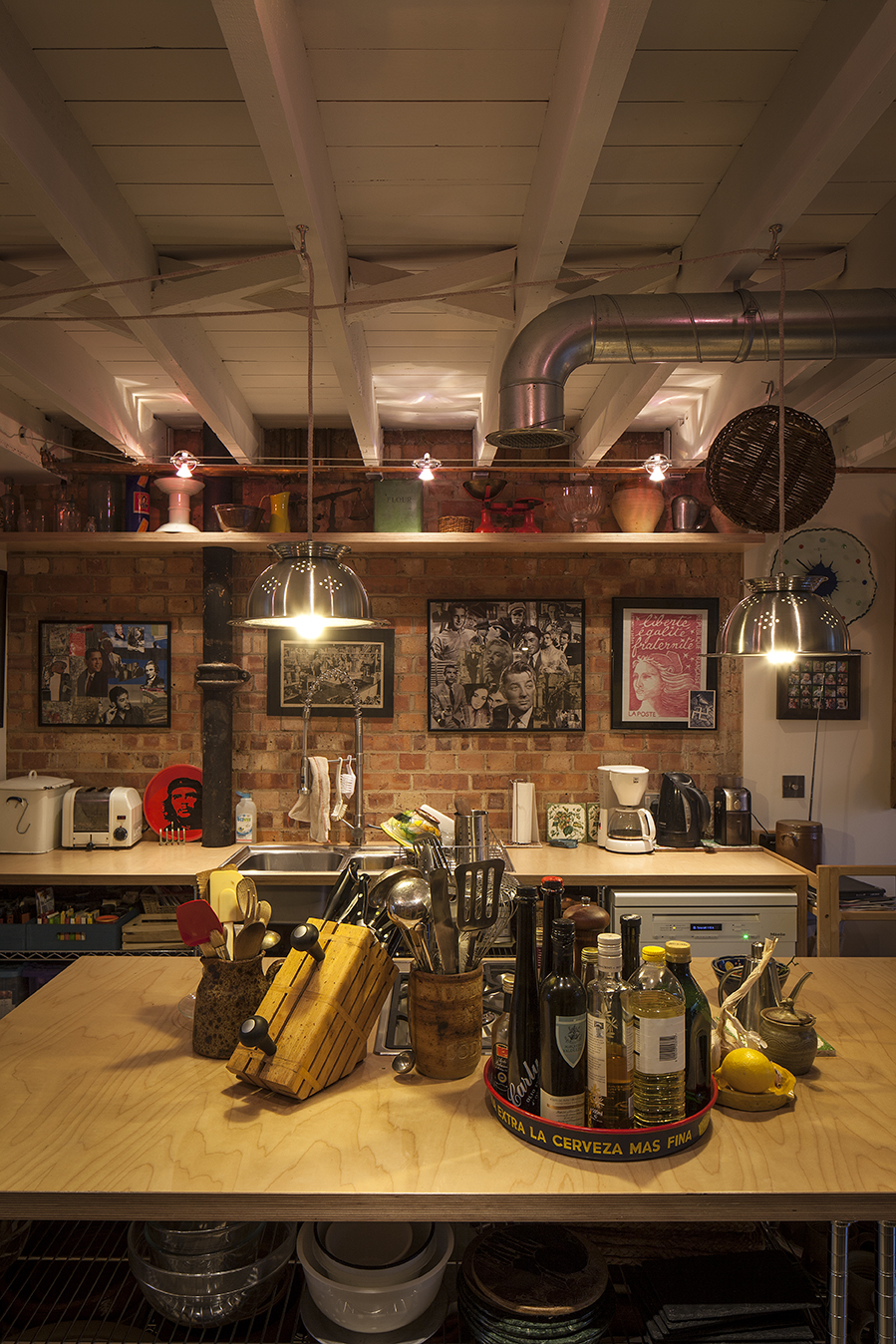 Modern Contemporary Fletcher Crane Architect House Extension Teddington Surrey Kitchen Extractor Plywood