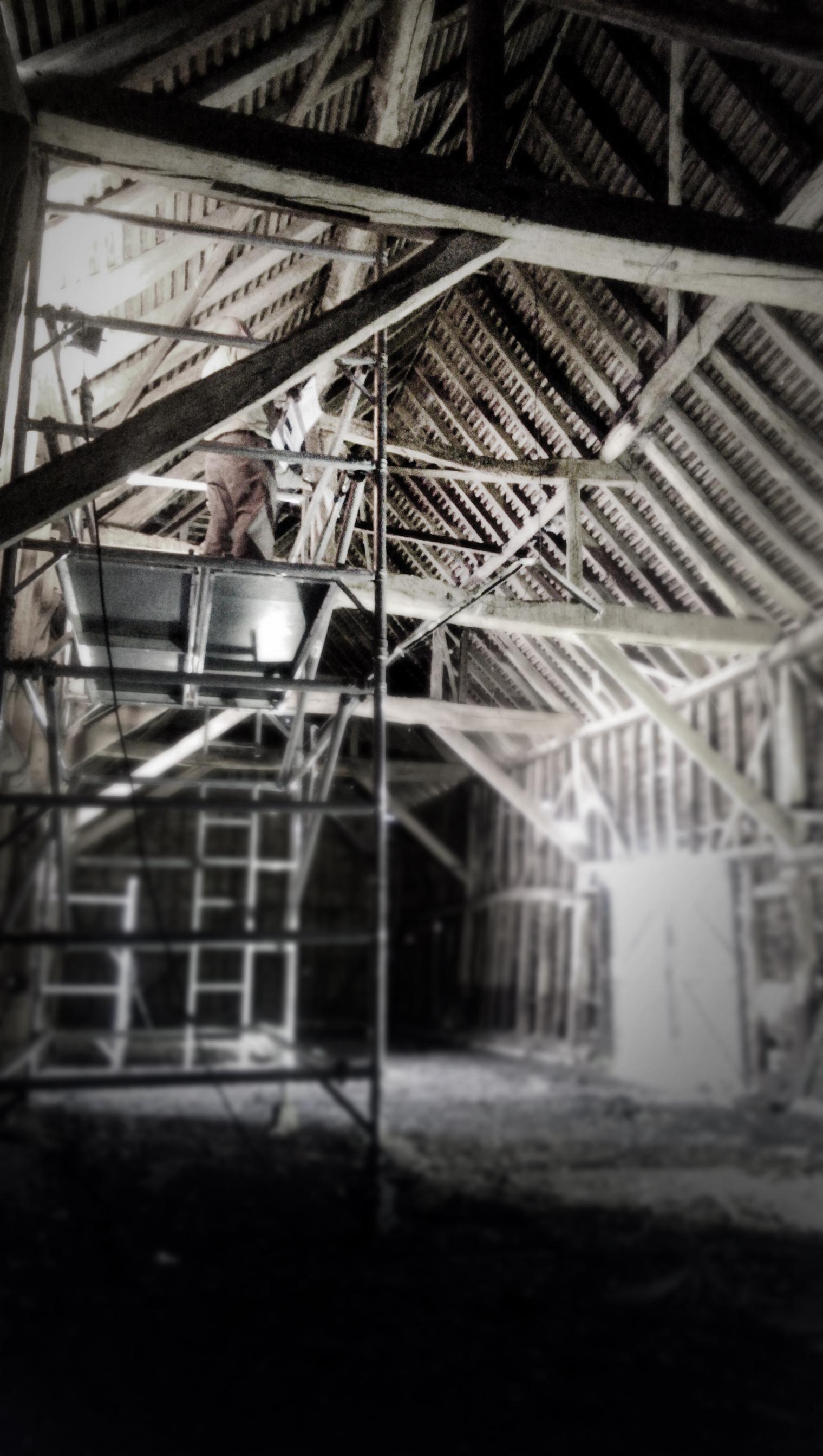 Modern Contemporary Architect Barn Conversion Watford London Site Photo structure
