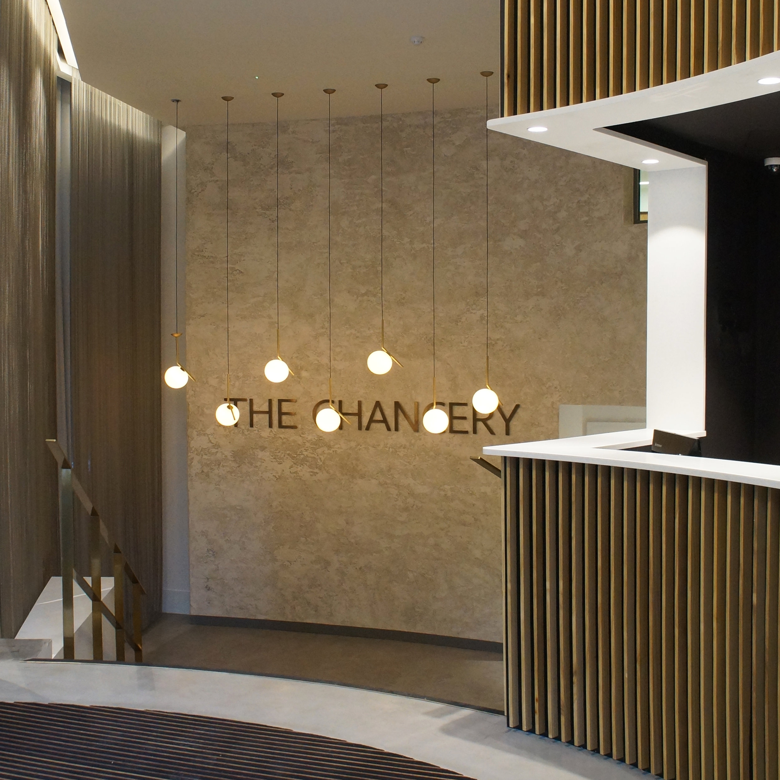 the chancery, Manchester, architect, timber, lighting, interiors, Rocksping